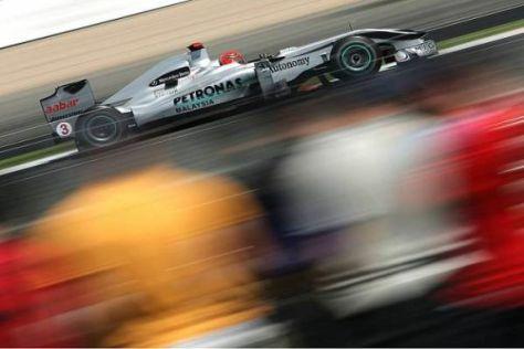 Michael Schumacher fährt endlich auch wieder in Hockenheim Formel 1