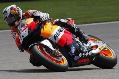 Dani Pedrosa fuhr am Freitagnachmittag die Bestzeit in der MotoGP