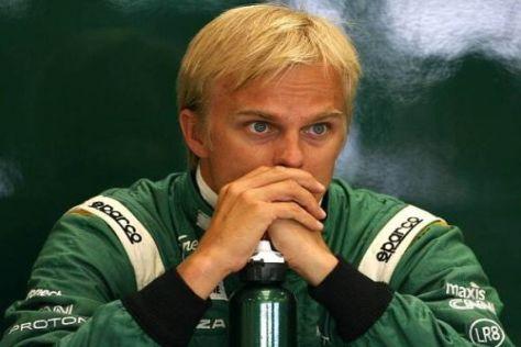 Heikki Kovalainen startet seine Karriere bei Neueinsteiger Lotus neu