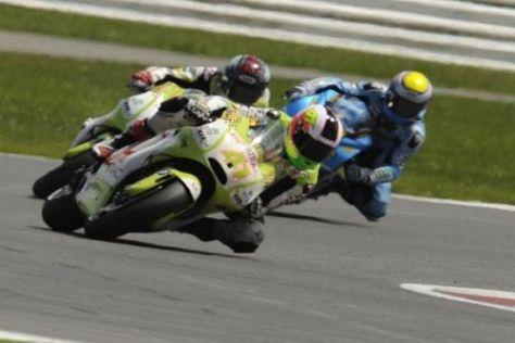 Das Pramac-Duo ließ die Suzukis einmal mehr hinter sich