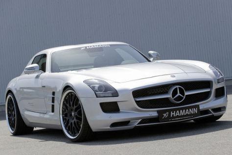 Mercedes SLS Tuning von Hamann Motorsport
