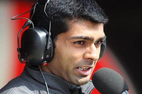 Karun Chandhok hat seine ersten zehn Rennen in der Formel 1 hinter sich