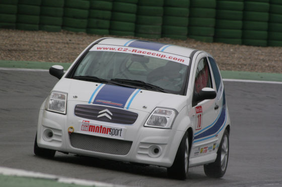Citroën C2 Cup auf dem Hockenheimring