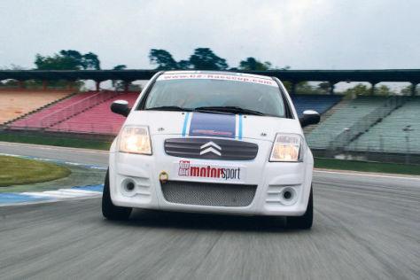 Citroën C2 Cup im Test