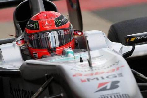 Michael Schumacher hofft in Hockenheim auf die Unterstützung der Fans