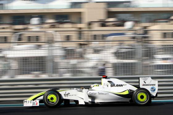 Weltmeister Jenson Button 2009 im Brawn GP