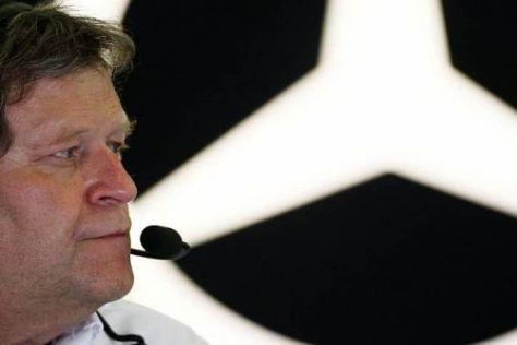 Norbert Haug würde den Mercedes-Stern gern in Hockenheim glänzen sehen