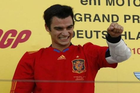 Dani Pedrosa will nach seinem Sieg am Sachsenring in Laguna gleich nachlegen