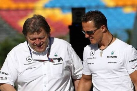 Norbert Haug und Michael Schumacher: Ein Team für viele Jahre?