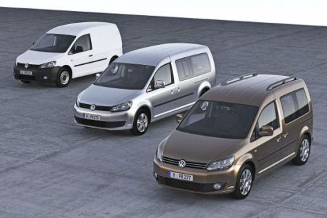 VW Caddy (2011)