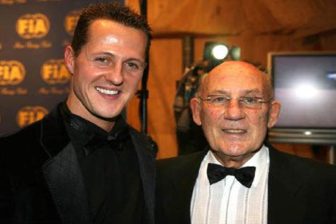 Laut Stirling Moss ist Michael Schumacher keine sieben WM-Titel wert