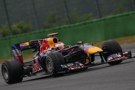 Sebastian Vettel ist mit dem Verhalten seines Auto zufrieden