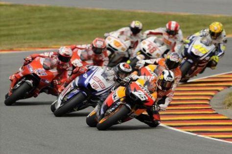 Am Wochenende bestreitet die MotoGP das USA-Rennen 2010 in Laguna Seca