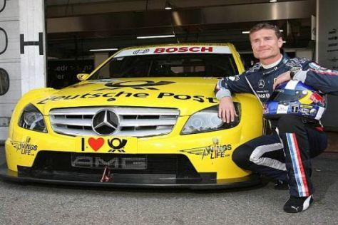 Mann in Gelb: David Coulthard geht für das Mücke-Team in der DTM an den Start