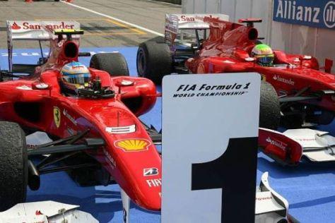 Bei Ferrari ist spätestens jetzt klar, wer die Nummer eins im Team ist