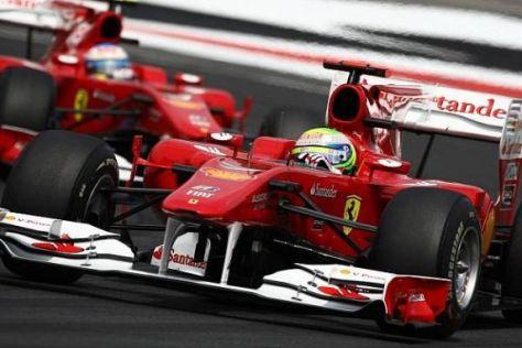 """Da war die Reihenfolge noch """"sportlich"""": Massa führt das Rennen vor Alonso an"""