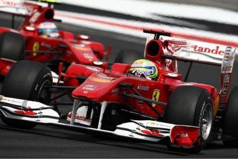Felipe Massa vor Fernando Alonso: So sollte es nicht lange bleiben...