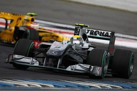 Nico Rosberg ist froh, dass es zumindest für ein paar Punkte gereicht hat