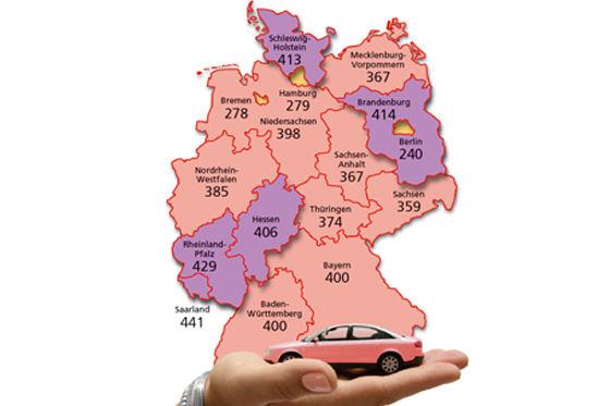 Länderübersicht Deutschland