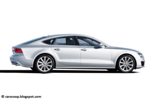 Audi A7 Sportback Seitenansicht