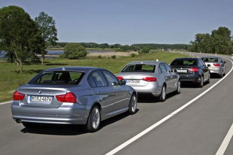 Audi A4 BMW 3er Citroën C5 Seat Exeo