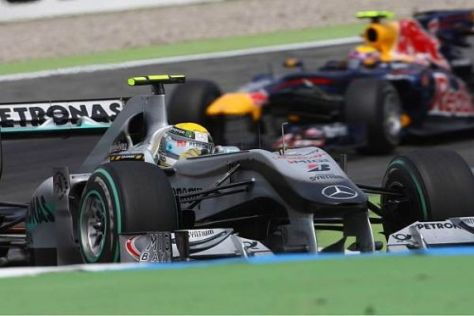 Mercedes vor Red Bull? In Ungarn wird das wohl kaum möglich sein