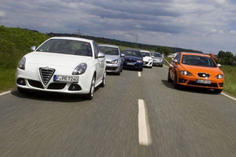 Alfa Romeo Giulietta/VW Golf GTD/BMW 120d/Mazda 3/Opel Astra