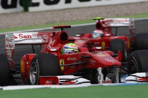 Darf Felipe Massa in Ungarn im Zweifel vor Fernando Alonso bleiben?