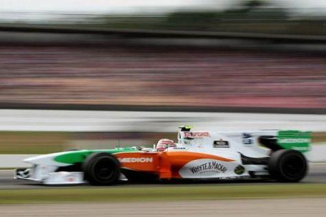 Vitantonio Liuzzi hat Hoffnung auf Punkte am Hungaroring