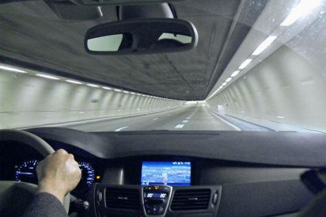 Duplex-Tunnel auf der A 86 bei Paris 2010