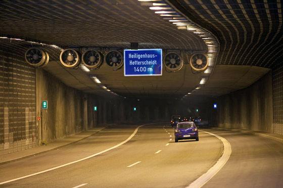 Tunnel Birth A44 bei Velbert