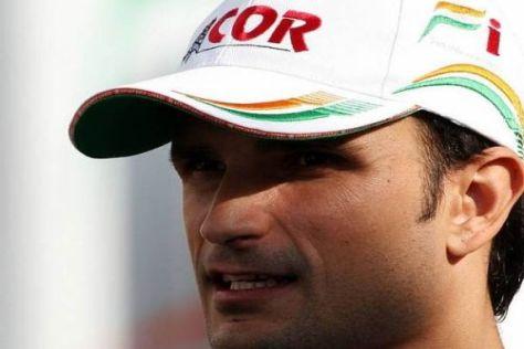 Liuzzi kehrte 2009 nach dem Wechsel von Fisichella ins Renncockpit zurück