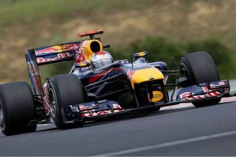 Sebastian Vettel fuhr in beiden Einheite die schnellste Zeit