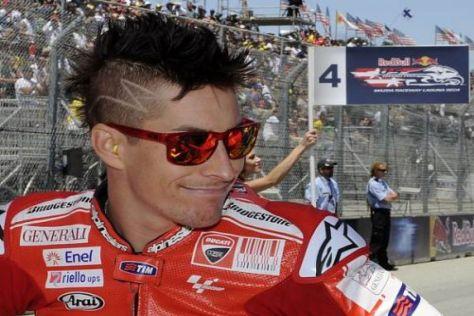 Nicky Hayden hatte sich im Heimrennen in Laguna Seca mehr erhofft