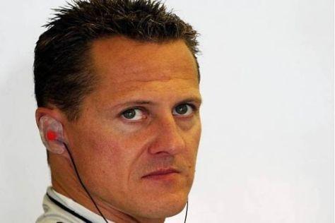 Michael Schumachers Qualifying-Schuss ging nach hinten los