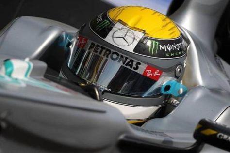 Nico Rosberg stellte Michael Schumacher am Samstag in den Schatten