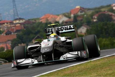Nico Rosberg holte wieder einmal das Maximum aus dem Auto raus