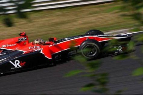 Timo Glock konnte endlich den erhofften Leistungssprung des Autos umsetzen