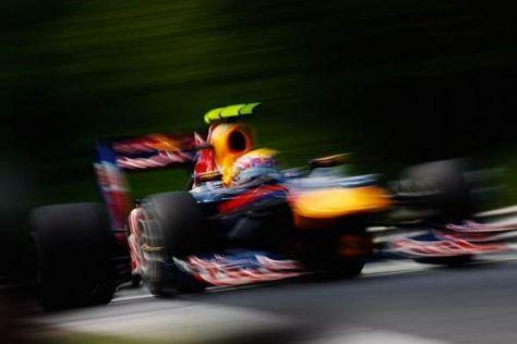 Vor allem die Frontflügel des Red Bull RB6 sind im Tiefflug unterwegs