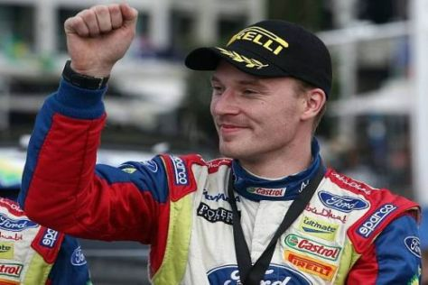 Jari-Matti Latvala war der umjubelte Held bei der Finnland-Rallye