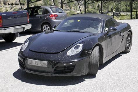 Porsche Boxster (981): Erlkönig