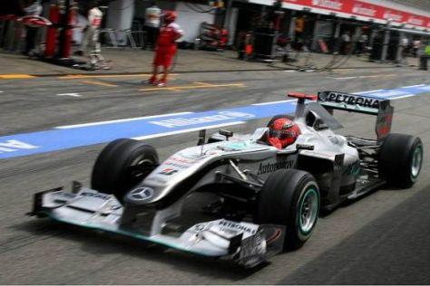 Sind die Reifen der Schlüssel zum Erfolg für Mercedes-Pilot Michael Schumacher?