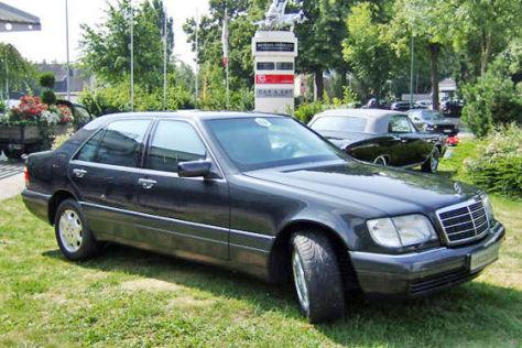 Mercedes S 420 L mit Panzerung von ALDI-Chef Theo Albrecht