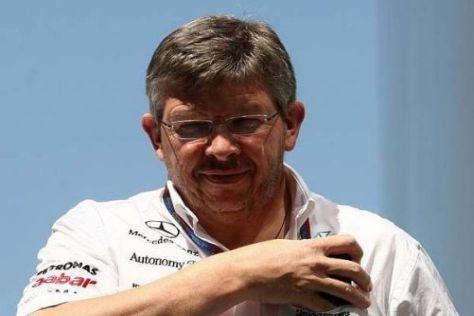 Ross Brawn ergreift nach dem Ungarn-Manöver Partei für Michael Schumacher
