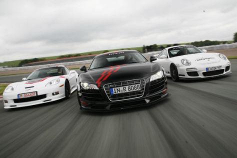 Cargraphic 911 GT3 RSC 2 3.8, Geiger Corvette Grand Sport Kompressor, MTM RS GT3-2