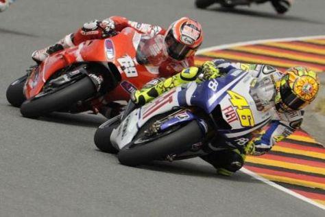 Kommende Saison gemeinsam bei Ducati? Valentino Rossi und Nicky Hayden