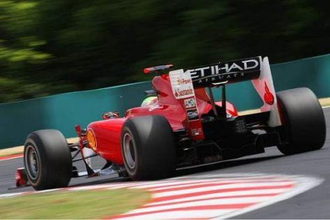 Felipe Massa ist froh darüber, dass Ferrari zuletzt wieder weit vorne zu finden war