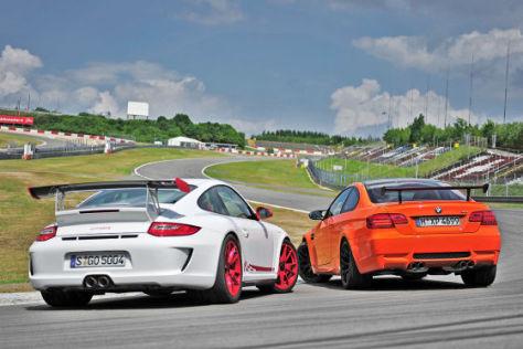 Porsche 911 GT3 RS BMW M3 GTS