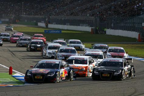 DTM-Autos am Start