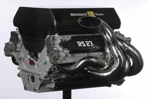 Großes Puzzle: Der Renault RS27 besteht aus etwa 1.000 Einzelteilen